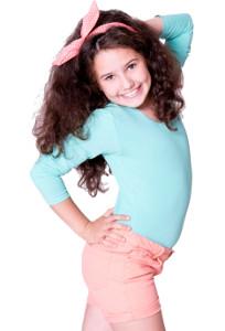 EVONI Kinder Kurzarm-Body mit Rundhals